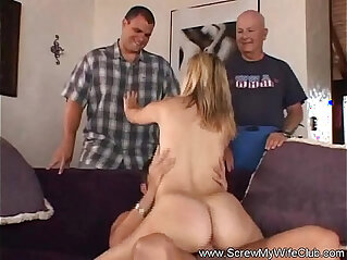 More Swinging For Happy Housewife