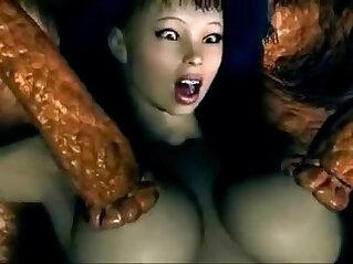 3D Monster Anime Sex .br