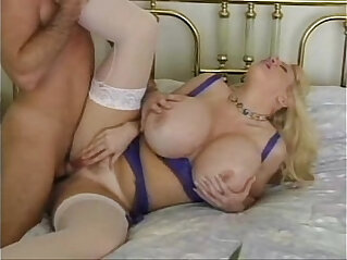 Boobtown Extreme Blond Mom With Mega boobs Fucked