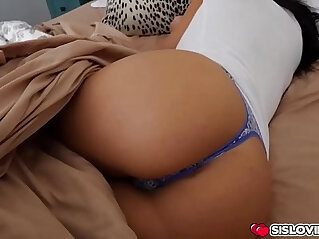 Aidra Fox gets pounded in the bedroom by her step bro