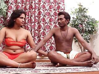 Hot Indian Girl Teaching Yoga...