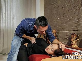 Punish, tie up and fuck sexy burglar properly
