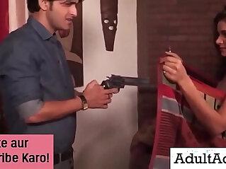 Police Sex with Hot Desi Indian Bhabhi MILF