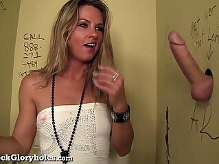 slim: Hot Slut Blows Stranger In Public Bathroom!