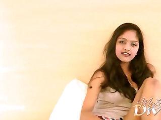 Hot indian college girl masturbating on cam