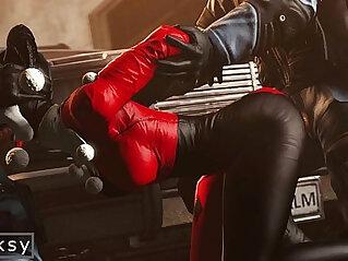Harley Quinn gang bang