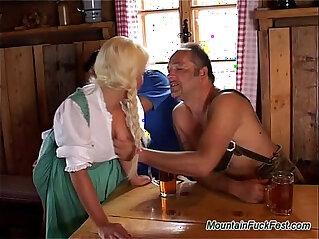 Mountain fuck hard sex